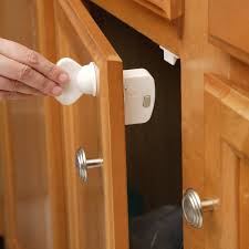 Baby Proof Kitchen Cabinets Amazoncom Cabinet Locks Straps Baby Products
