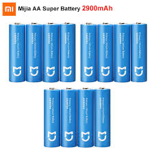 4PCS <b>Xiaomi Mijia Super</b> Battery AA 2900mAh Lithium iron battery ...