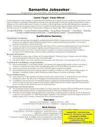 example of targeted resume targeted resume examples