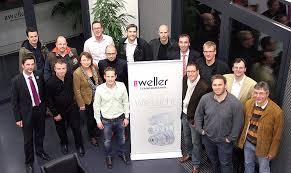 Wirtschaftsjunioren der IHK Wetzlar bei der Uwe Weller Feinwerktechnik GmbH - 45