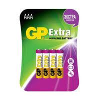 «<b>Батарейки GP Extra AAA</b> Battery 4 Pack GP24AX-2CR4 ...