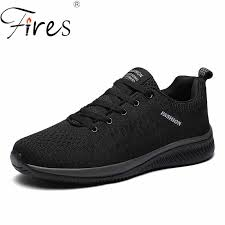 Fires <b>Men Fashion Shoes Sneakers</b> Brand Breathable Flat ...