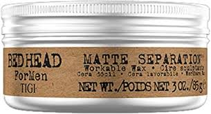 <b>Bed Head</b> B For Men Matte Separation Workable Wax by <b>TIGI</b> for ...