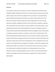 exploratory essay and research log   exploratory essay and     pages two descriptions  believing and doubting