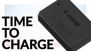 Official <b>Canon LP-E12</b> Charging Time - YouTube