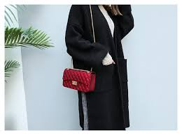 <b>FUNMARDI</b> Diamond Lattice Women's Chain Bags Fashion ...