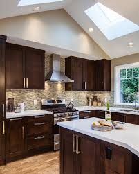 espresso cabinets kitchen kitchen transitional with cove lighting irregular shaped bathroom recessed lighting ideas espresso