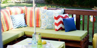 porch decorating ideas patio backyard furniture  landscape  diy pallet furniture patio makeover wwwplaceofmytastecom