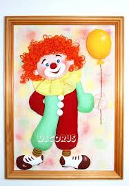 3д панно-картина <b>Добрый</b> клоун – купить в интернет-магазине ...