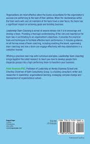 leadership team coaching developing collective transformational leadership team coaching developing collective transformational leadership amazon co uk peter hawkins 9780749458836 books
