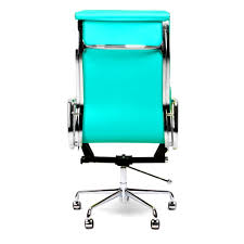bedroomcharming eames inspired style turquoise soft pad executive office bungee chair p image drop dead gorgeous bedroomgorgeous executive office chairs furniture
