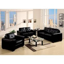 Of Living Rooms With Black Leather Furniture Living Room Black Living Room Furniture For Pleasant Adorable