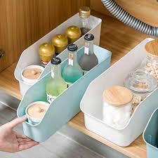 <b>Refrigerator Organizer Containers Rectangle</b> Cabinet Storage Box ...