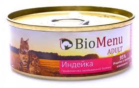 <b>Консервы BioMenu Adult</b> паштет для кошек профилактика МКБ ...