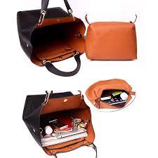 Tibes <b>Fashion</b> Waterproof Shoulder <b>Bag</b> Synthetic <b>Leather Handbag</b> ...