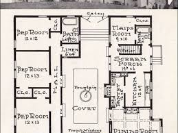 Spanish Revival Bungalow Spanish Bungalow House Plans  spanish    Mission Style Homes Mission Style House Plans