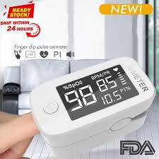 <b>Big Screen LED Blood</b> Oxygen Monitor Finger Pulse Digital Finger ...