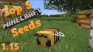 <b>Top</b> 5 EPIC Seeds for Minecraft 1.15 The <b>Bee</b> Update! [<b>2019</b> ...
