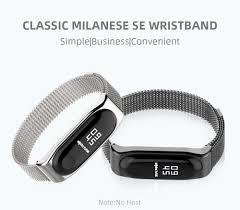 <b>Mijobs</b> Magnetic Strap <b>for</b> Xiaomi <b>Mi Band 4</b> 3 Smart Watch Wrist ...