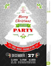 christmas party poster design vector abstract background stock christmas party poster design vector abstract background