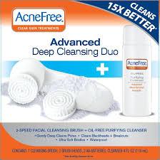 NDC <b>0187</b>-5012 Acnefree Clear Skin Treatments Advanced Deep ...