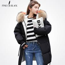 <b>PinkyIsBlack</b> 2018 New Parkas <b>Female Women</b> Winter Coat ...
