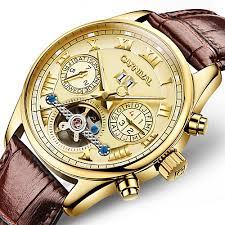<b>Carnival Men's</b> Skeleton Watch Aviation Watch Automatic <b>self</b> ...