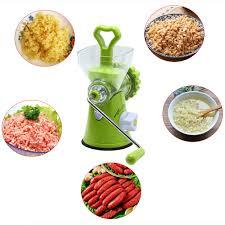 DIY <b>Multifunction Manual Meat Grinder</b> Spice Vegetable Chopper ...