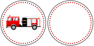 firetruck themed birthday party printables how to nest click image to print