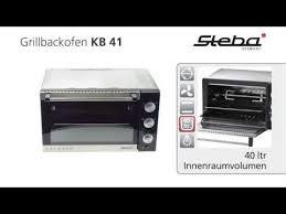 <b>Минипечь Steba KB 41</b> - купить по супер цене в Домельер