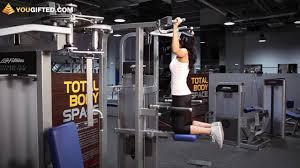 Фитнес. Упражнения для спины. Подтягивания. - YouTube