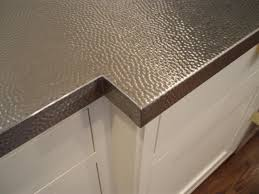 stainless kitchen counter