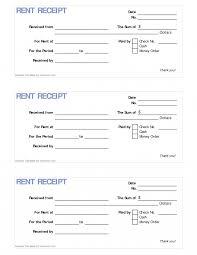rent receipt sample best photos of employment printable it