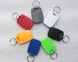 100Pcs/lot <b>13.5MHZ UID Changeable</b> MF <b>S50</b> 1K IC Keys Keyfobs ...