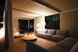 flameless pillar candles porch contemporary with candles ceiling treatment corner windows deck outdoor curtains pendant lighting candle decorative modern pendant lamp