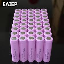 <b>EAIEP</b> Batería de ion de litio recargable para ICR18650 26F, lote de ...