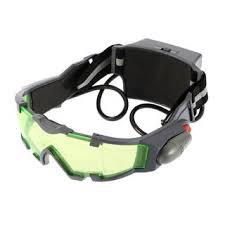 Shop Green Lens <b>Adjustable Night Vision</b> Goggles - Overstock ...
