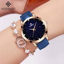 2018 New <b>Luxury</b> Brand <b>CADISEN Women</b> Leather Watch Fashion ...