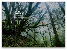 best coming soon html website templates colorlib woody forest inspired green website template