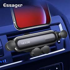 <b>Essager Gravity Car Phone</b> Holder for iPhone Xiaomi Mi Air Vent ...
