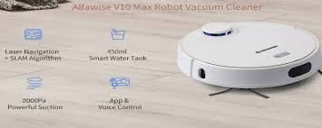 <b>Alfawise V10 Max</b> vacuum robot: Budget model launched with LDS