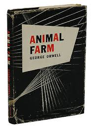<b>Animal Farm</b> by GEORGE ORWELL ~ First American Edition 1946 ...