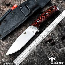 Voltron Tactical high hardness straight knife, <b>D2 steel self defense</b> ...