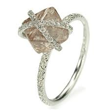 Pin by <b>Helen</b> Choi on <b>Exquisite</b> Jewels | Raw <b>diamond engagement</b> ...