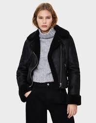 <b>Байкерские куртки</b> - Куртки и пальто - КОЛЛЕКЦИЯ - ЖЕНЩИНЫ ...