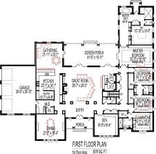 Bedroom House Plans Open Floor Plan Design Sq Ft House StoryCustom SF House Floor Plan Open Floor Plan Three Bedroom