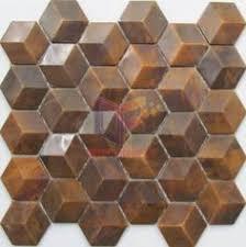 Шестиугольник Дизайн <b>Медь мозаика</b> (CFM973) | плитка ...