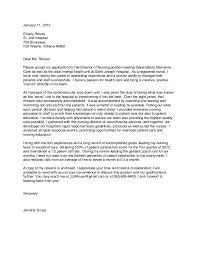 Remarkable Nursing Cover Letter Example   Brefash   example of nursing cover letter