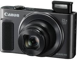 Купить цифровой <b>фотоаппарат Canon PowerShot SX620</b> HS Black