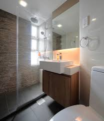 bathroom place vanity contemporary: showers for small bathrooms bathroom contemporary with beige brown floating vanity